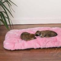 Dog toys Cloud Cushions Ultra Soft Comfortable Dog Bed with Non-Skid Bottom - Pink Manufactures