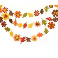 Buy cheap Fall Leaf Garland - Autumn - Leaves - Flower from wholesalers