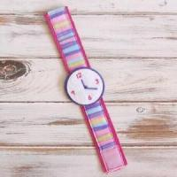 Buy cheap Girls Pretend Watch - Hot Pink - Stripe from wholesalers