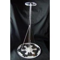 Star Wars helmet display stand Empire logo EFX Master Replicas laser cut acrylic Manufactures