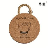 Buy cheap Round cork coasters from wholesalers