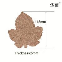 Buy cheap Maple leaf cork coasters from wholesalers