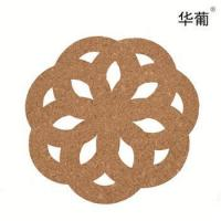 Buy cheap Hollow cork coasters from wholesalers