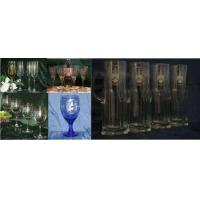 Buy cheap Unique Wine Glasses with Decorative Coat of Arms on Each Wine Glass from wholesalers