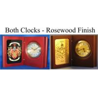 China Personalized Desk Clock with Coat of Arms on sale