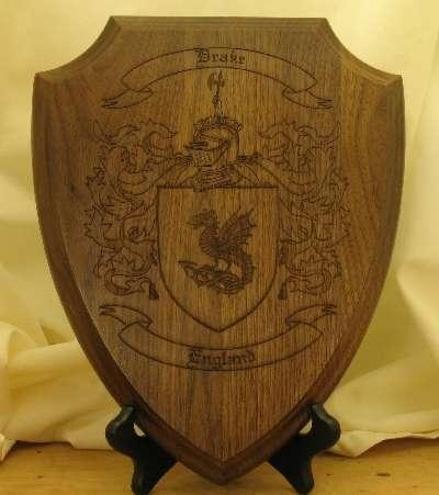 Quality House Plaque with Coat of Arms for Home Interiors for sale