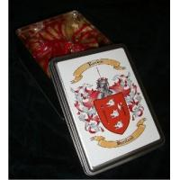 China Gourmet Cookies with Tin Box with Your Coat of Arms on sale
