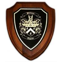 Engraved Business Gift  Personalized Engraved Gift with Coat of Arms