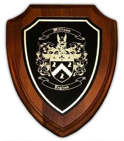 Quality Engraved Business Gift  Personalized Engraved Gift with Coat of Arms for sale