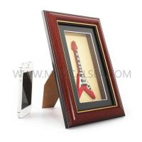 Buy cheap Photo frame with mini guitar and decorative photo frame Musical Instrument from wholesalers