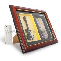 Buy cheap Decorative photo frame with guitar and picture frame for dec Musical Instrument from wholesalers