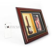 Buy cheap Decorative photo frame with guitar and picture frame Musical Instrument from wholesalers