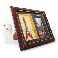 Buy cheap Photo frame with mini guitar decorative photo frame Musical Instrument from wholesalers