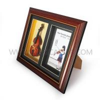 Buy cheap Photo frame with mini violin and decorative photo frame Musical Instrument from wholesalers