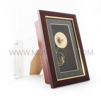Buy cheap Metal miniature sousaphone decorative picture frame Musical Instrument from wholesalers