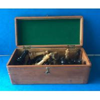 China Victorian Horn Chess Set wholesale