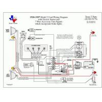 1930 Ford Model A Wiring Diagram Electric Manufactures