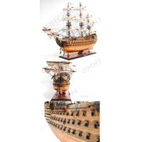 HMS VICTORY COPPER BOTTOM (with fiberglass covered Manufactures