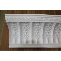 China Beautiful Lightweight and Hard Decoration PU Carving Cornice Moulding Design on sale