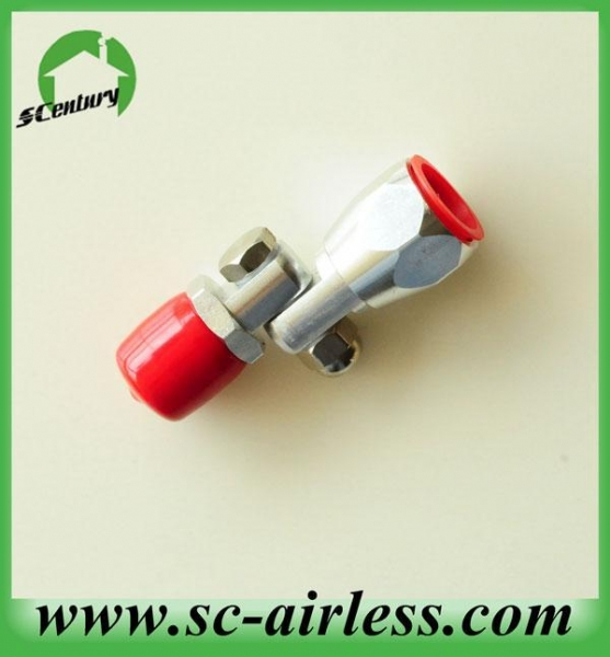 Quality ELectric Airless Paint Sprayer Swivel Connector for Ext for sale