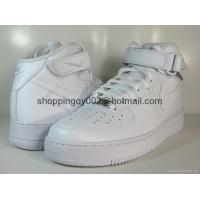 Men shoes NIKE MENS AIR FORCE 1 MID White BASKETBALL sneaker shoes cheap sale Manufactures