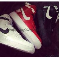China Men shoes Nike Supreme Air Force 1 SP High top men Women af1 World Famous sneaker Shoes on sale