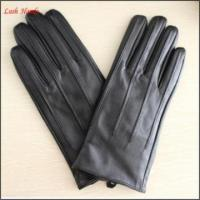China mens wearing fashion leather glove simple style leather glove on sale
