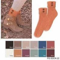 Quality Simply Noelle crew boot or shoe socks only 6 colors left poly cotton for sale
