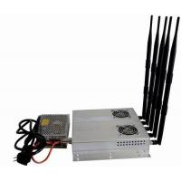 5 Antenna 25W High Power 3G Cell phone Jammer with Outer Detachable Power Supply Manufactures