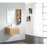 Wood Pattern With Side Cabinet Small Size MDF Foshan Quality Toilet Cabinet Manufactures