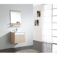 Wood Pattern With Two Layers Shelf MDF Eco-friendly Painting WC Cabinet Manufactures