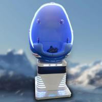 The World First Single Chair Egg Design 9D Egg VR Cinema Simulator Manufactures