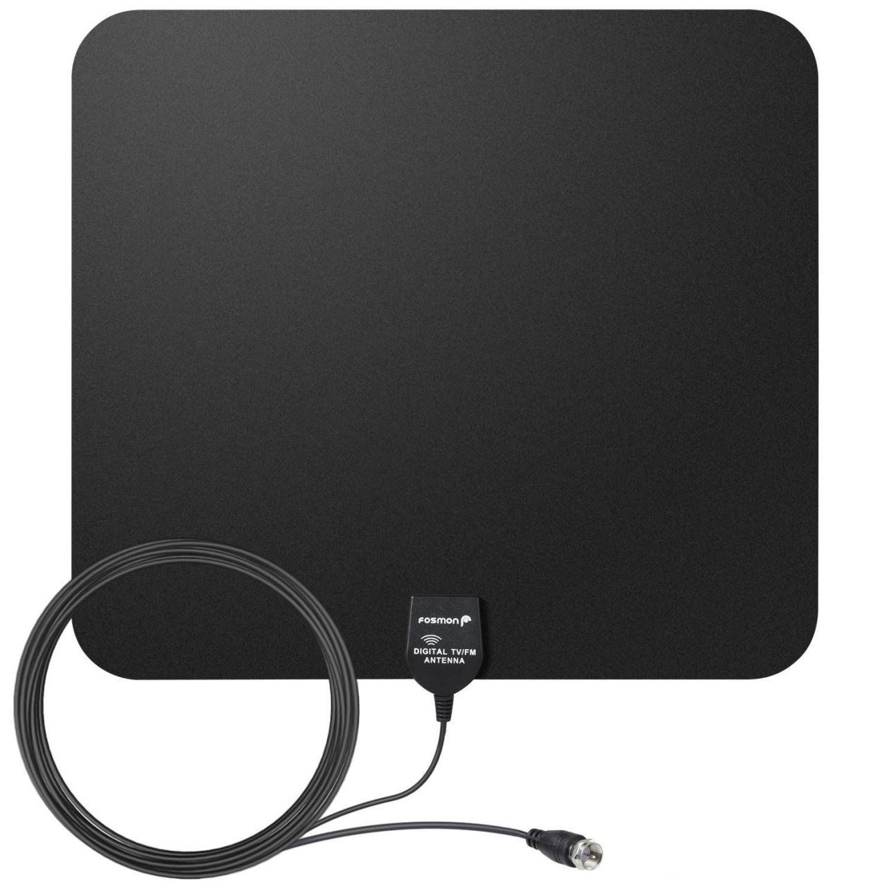 China Ultra Thin Indoor HDTV Antenna, 35 Miles / 56km Range on sale