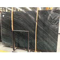 Chinese Antique Wood Stone Marble, Black Vein Marble Floor Tile Manufactures