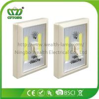 Promotion Magnetic Velcro Plastic 6W COB LED Wall Switch Light with CE RoHS BSCI Manufactures