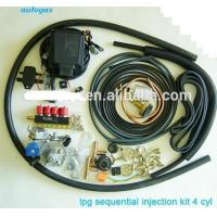 China 4Cylinder LPG sequential Injection system kits on sale