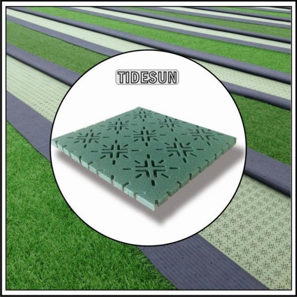 China XPE Eco-friendly Artificial Grass Turf Underlay Shock Pad