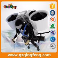 Buy cheap Qingfeng indoor amusement park 9D VR Flying Standing VR flight simulator game from wholesalers