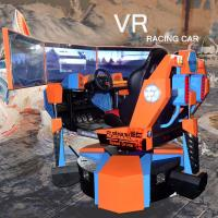 Buy cheap Qingfeng simulator 360 degree rotatable chair Three-axis Dynamic vr raccing car from wholesalers