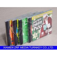 Custom Cd Replication And Clear Plastic Disc Cases Packaging Printing Design Manufactures