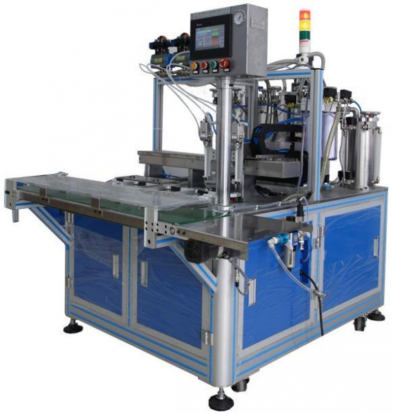 Quality Double Stations Epoxy Dispensing Machine for sale