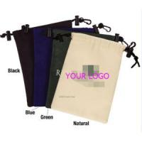 Buy cheap Nylon drawstring pouches with safelock and keyring from wholesalers