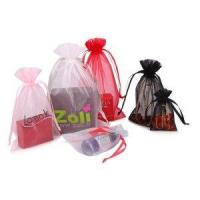 Buy cheap exquisite customized logo colorful organza bag from wholesalers