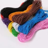 Buy cheap braided ployester 0.8-8mm elastic rope from wholesalers