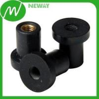 Plastic Gear Anti Vibration Brass Insert Molded Rubber Parts Manufactures