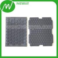 Plastic Gear OEM EPDM With Adhesive Non Slip Rubber Pad Manufactures