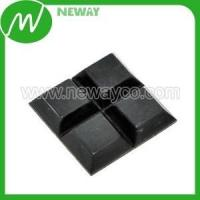 Plastic Gear Durable Self Adhesive Rubber Feet For Furniture Manufactures