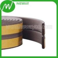 Plastic Gear Factory Customized Rubber Seal Gasket With Adhesive Tape Manufactures