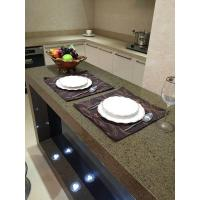 China Prefabricated Installing Green Cutting Quartz Countertops Is Inexpensive Quartz Countertops on sale