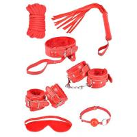 China Fun Sex Toy Set Includes Cuffs, Collar, Ties, and Tickler wholesale